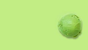石灰冰淇凌 免版税图库摄影