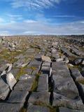 石灰岩地区常见的地形横向 库存图片