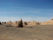 石灰岩地区常见的地形现象 库存图片
