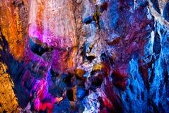 石灰岩地区常见的地形洞 免版税图库摄影