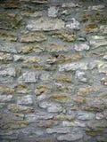 石灰石和灰浆墙壁 免版税库存图片