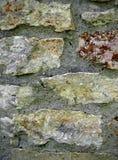 石灰石墙壁石工 库存图片