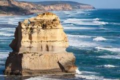 石灰石岩石在澳大利亚 库存图片
