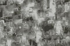 石灰石难看的东西纹理,碳酸盐矿物的模仿 向量例证