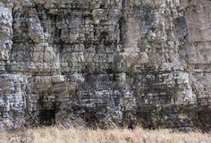 石灰石水平的层数 免版税库存图片