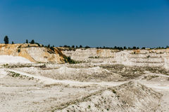 石灰石quarry.JH 库存图片
