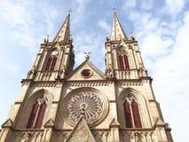 石狮耶稣圣心大教堂 免版税图库摄影