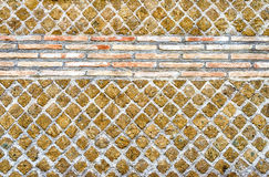 石砖墙纹理,也许使用作为背景 图库摄影