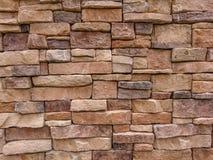 石砖墙纹理  免版税库存图片