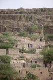 石窑洞在非洲 免版税库存照片