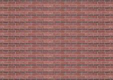 石红色背景,瓦片封闭的线路花岗岩样式砖墙,自然纹理 库存照片