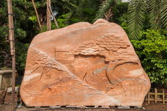 石纹理和样式 库存图片
