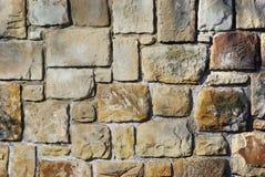 石纹理墙壁 免版税库存照片