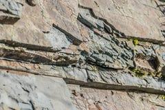 石纹理的不对称的样式 图库摄影