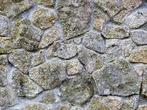 石背景 人为蓝色轻的石墙 免版税库存图片