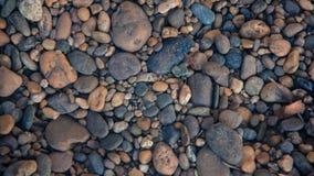 石背景-小卵石向纹理扔石头-石背景- pe 免版税库存照片