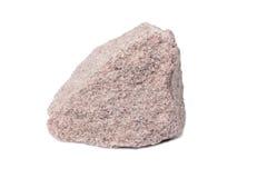 石英岩石头 免版税图库摄影