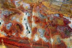石英物质和矿物石头 免版税库存照片