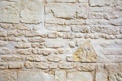 石葡萄酒墙壁 免版税库存照片