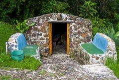 石蒸汽浴 库存图片