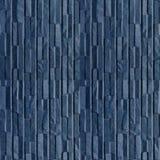 石蓝色墙板的Seamles样式 库存图片