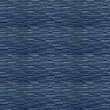 石蓝色墙板的Seamles样式 图库摄影