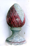 石蛋雕塑 免版税图库摄影