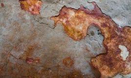 石表面、石地板、粗砺的石头和背景 免版税库存图片
