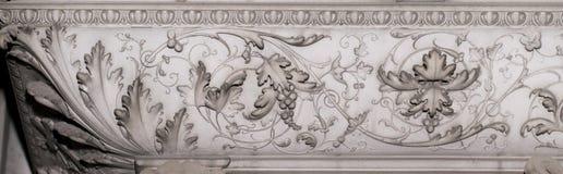 石装饰(抽象自然样式) 免版税图库摄影