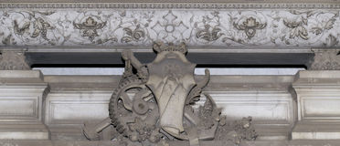 石装饰(抽象自然样式) 库存图片