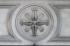 石装饰(抽象自然样式) 免版税库存图片
