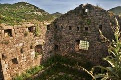 石议院废墟 库存图片