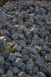 石路求在画象的摘要的立方 库存照片