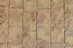 石路面纹理 库存图片