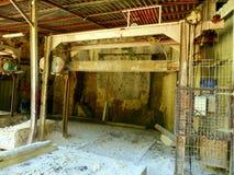 石锯木厂 库存照片