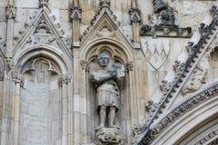 石雕刻骑士 免版税图库摄影