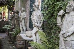 石雕塑 库存照片