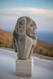 石雕象画象 免版税库存照片