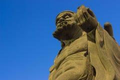 石雕象 免版税库存照片
