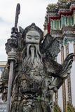 石雕刻在Wat Pho 库存图片