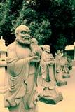 石雕刻Shengin塔在南昌,江西,中国 库存图片