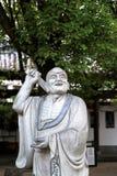 石雕刻Shengin塔在南昌,江西,中国 免版税库存图片