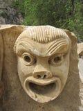 石面具 免版税库存图片