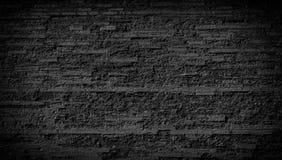 石黑墙壁背景 免版税库存图片