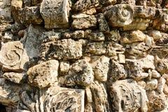 石头一起被堆积的岩石poorody 免版税图库摄影
