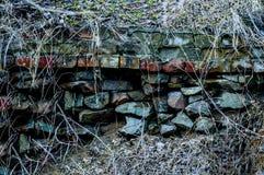 石头可怕背景  免版税库存图片