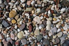 石头以各种各样的颜色 库存图片