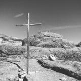 石头和宗教 免版税库存图片
