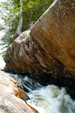 石头和小河 免版税图库摄影