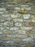 石头和灰浆墙壁 免版税库存图片